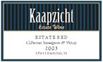 Kaapzicht Estate Red 2003