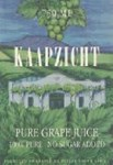 Kaapzicht Grape Juice 1998